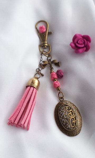 Bijou de sac @autour du Kitab marque-pages bijoux