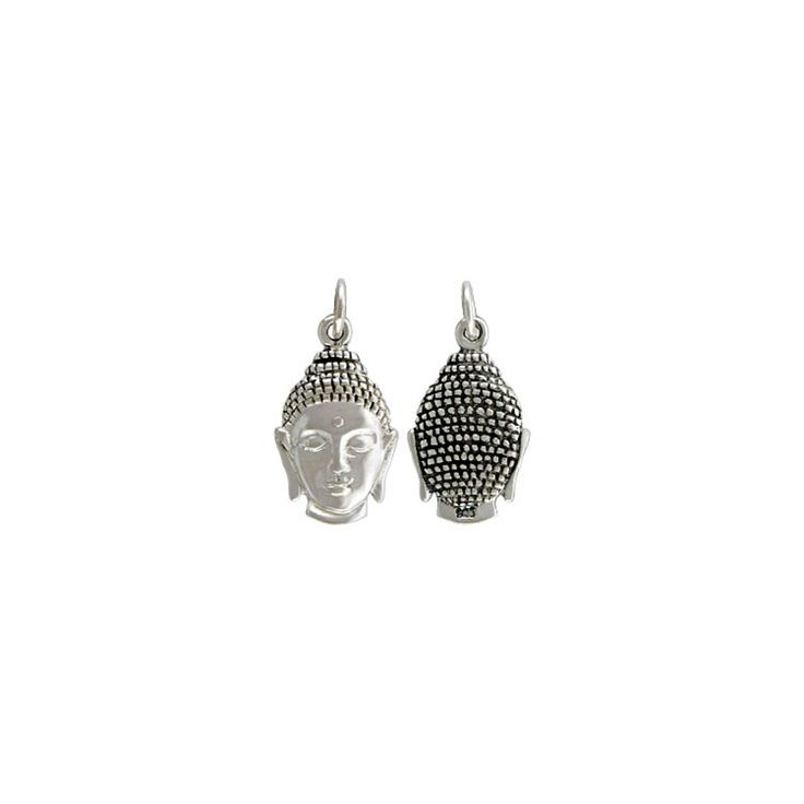 Buddha Charm - Honour your need for inner zen, with the lovely Buddha head charm.
