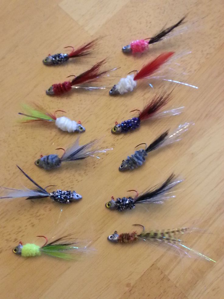 CRAPPIE JIGS I'VE TIED #1