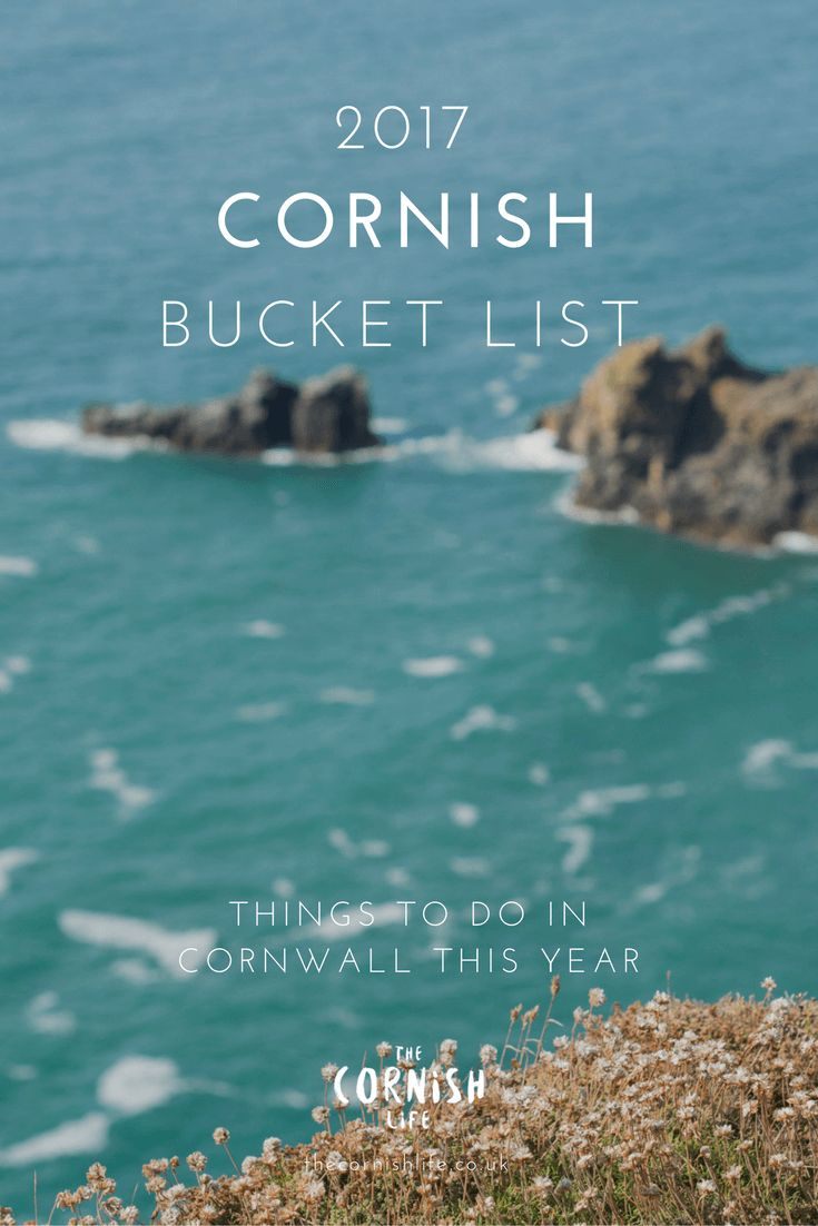 Cornish Bucket List for 2017
