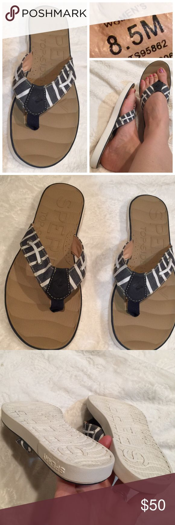 Sperry Top Sider nautical sandals Like new condition. 🚫 No Trades  🚭 Smoke Free Home 📦 Next Day Shipping 🕉 Namaste 🙏 Sperry Top-Sider Shoes Sandals