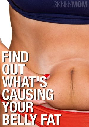 What is causing the belly fat? Read to find out!