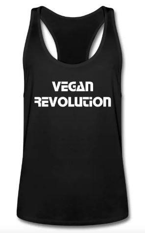 Vegan Revolution MEN TANK TOP #vegan #veganquotes #workout #vegangains