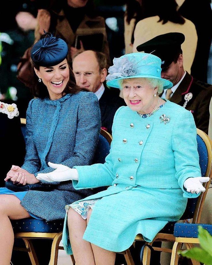 Герцогиня Кейт пошла против воли Елизаветы II - Новости - Дети Mail.Ru