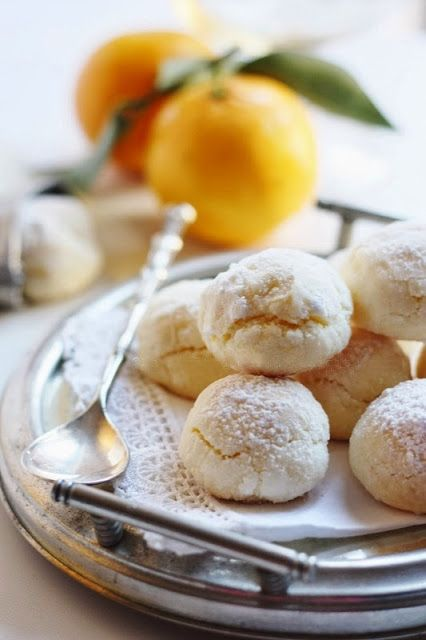 ♔ La ricetta della felicità ~ Pasticcini all'arancia... profumati, delicati e facilissimi!