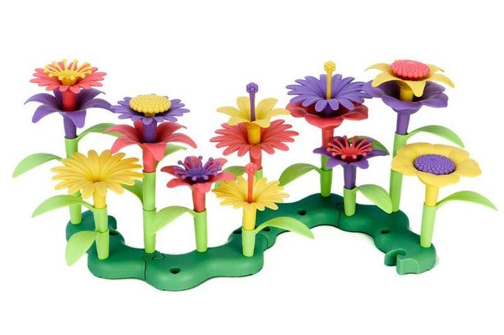Green Toys - Eco Friendly Build a Bouquet Construction Set