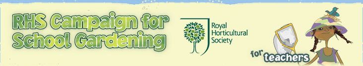 RHS - Campaign for School Gardening for Teachers - Gardening club ideas and activities