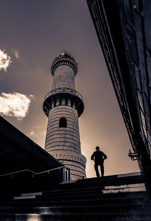 Der #Leuchtturm von #Warnemünde