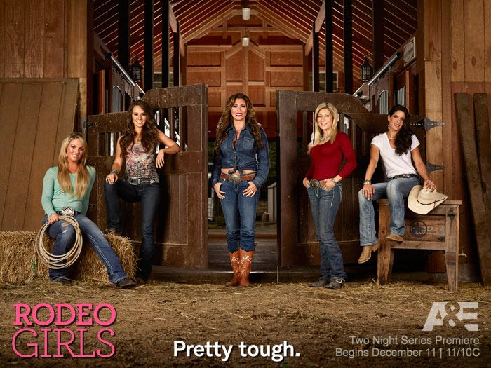 jessica on the rodeo girls | Rodeo Girls cast photo