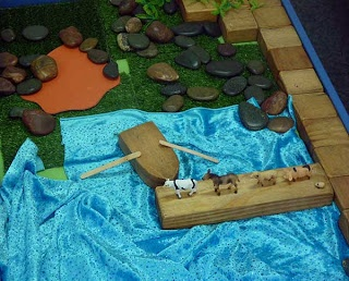 Prep M Blog - Who Sank the Boat? retell planner to print and small world play to create
