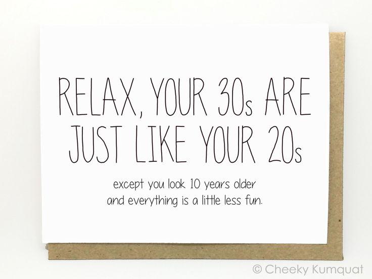 The 25 best 30th birthday cards ideas on Pinterest