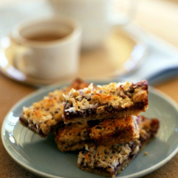Oatmeal Coconut Raspberry Bars – Sherry Dougherty