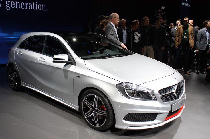 Женева 2012: Mercedes-Benz A-Class 2013-года