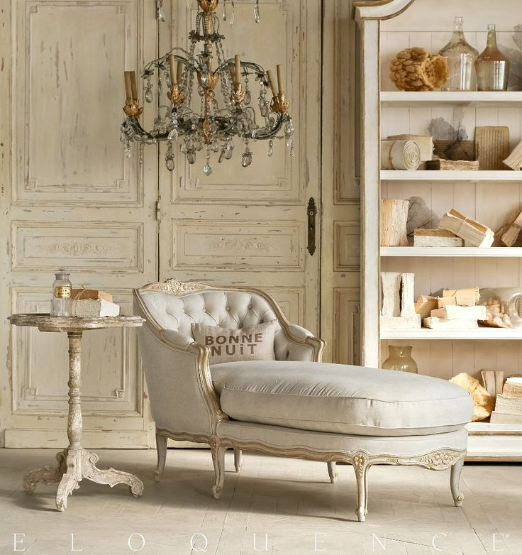 eloquence louis chaise gold twotone