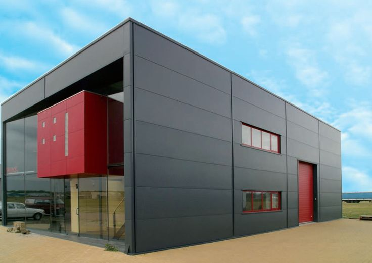 Metal facing sandwich panel / polyurethane foam core - FISCHERTHERM LL 80 - Fischer Profil GmbH