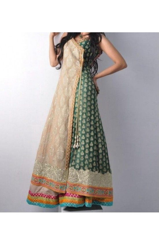 Angrakha frock #style If you want get here: http://www.myoffstreet.com/product/130213