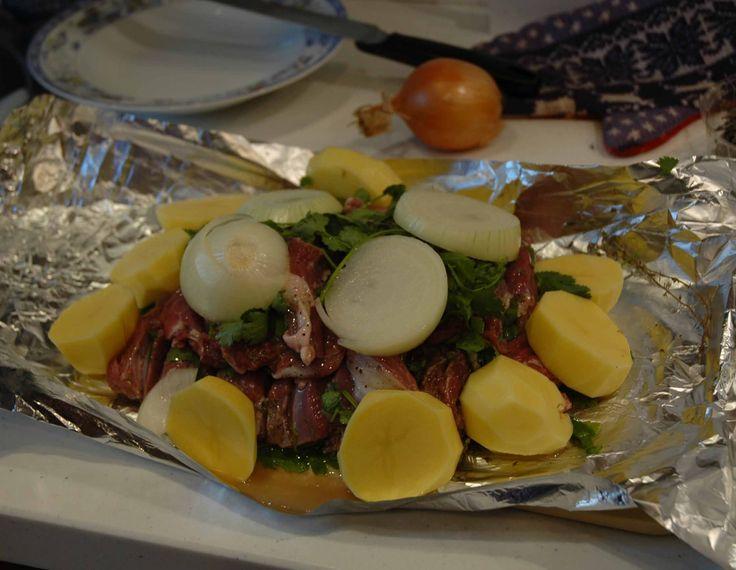 Клефтико (мясо тушеное с овощами) от Билли Бонса
