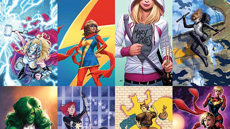 """This month, Marvel Comics is running several variant covers featuring its """"Women of Power."""" And Marvel Games is fully embracing the event with a new initiative that brings over a dozen new female characters to almost all of their games in March. Towards that end, LEGO Marvel's Avengers is adding Captain Marvel, Moonstone, and Poundcakes, a particularly obscure villainess who was created as a member of the Grapplers. Marvel Contest of Champions is getting the one-two punch of She-Hulk and…"""