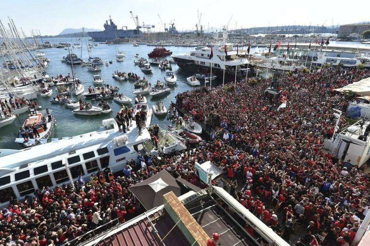 Toulon fête le Brennus #Rugby #TOP14 #Champions