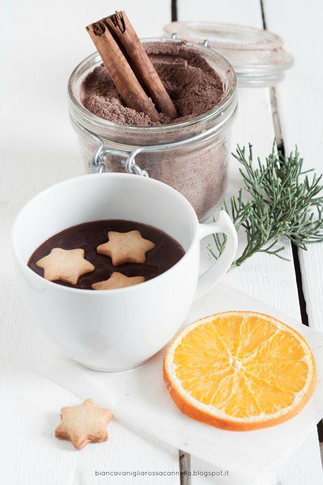 #aNataletiregalo: Preparato homemade per cioccolata calda all'arancia e cannella. Una nuova rubrica!