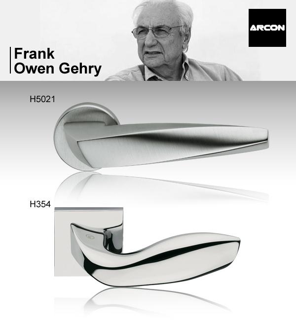 manillas h5021 y h354 de frank o gehry para arcon. Black Bedroom Furniture Sets. Home Design Ideas