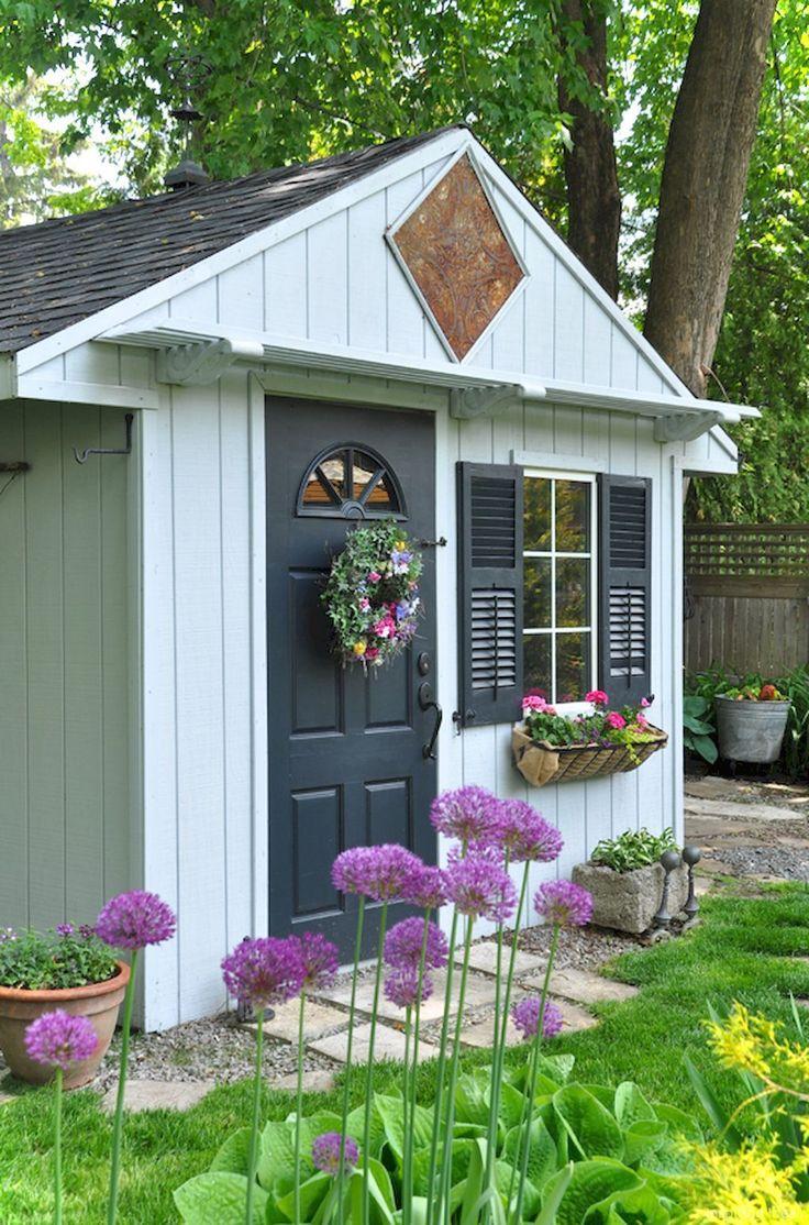 Awesome 53 Smart Garden Shed Organization Ideas https://roomaniac.com/53