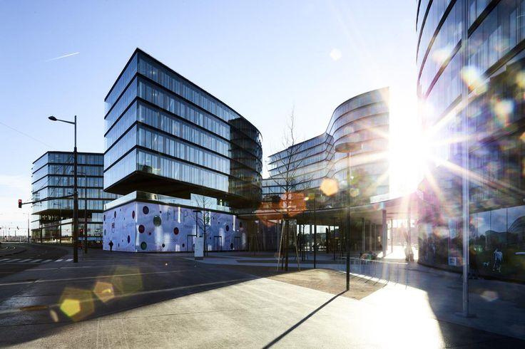 GEOCELL Schaumglasschotter als leichte Schüttung über Tiefgarage. Erste Campus Wien, (c) Bilder: Erste Group © Christian Wind