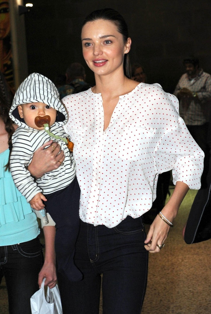 Miranda Kerr-  Hevea pacifier - star & moon design