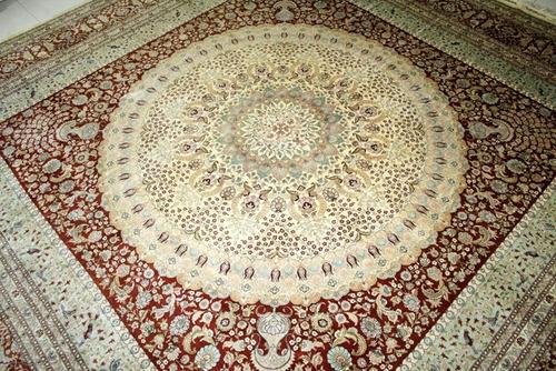 Hereke silk carpet, $27 500.00