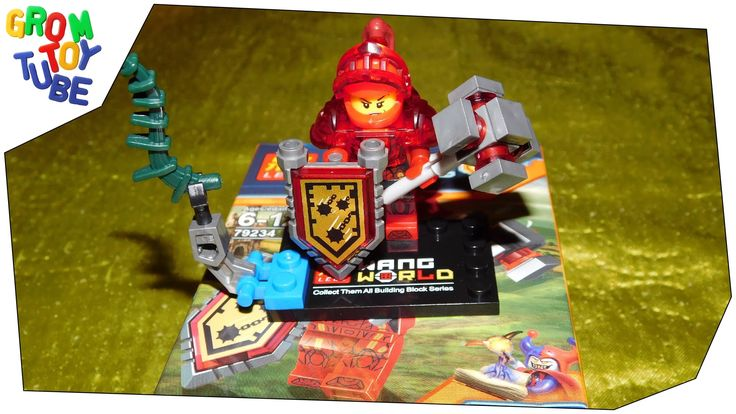 UNBOXING NEW LELE NEXO SOLDIERS NEXO KNIGHTS MACY