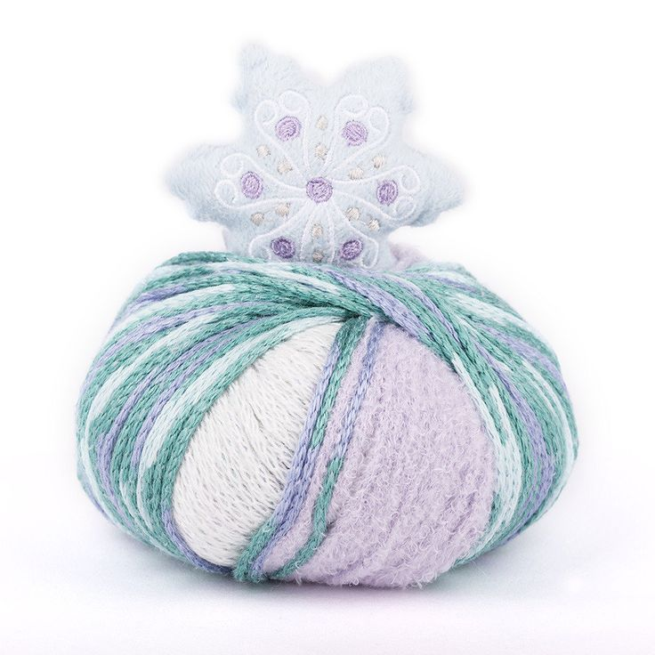 DMC Top This! are fun knitting kits that are perfect for kids. Each shade comes with a different character topper and the ball contains enough yarn for a child's hat.