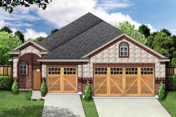 House Plan 88650 | Traditional    Plan with 1627 Sq. Ft., 3 Bedrooms, 2 Bathrooms, 3 Car Garage