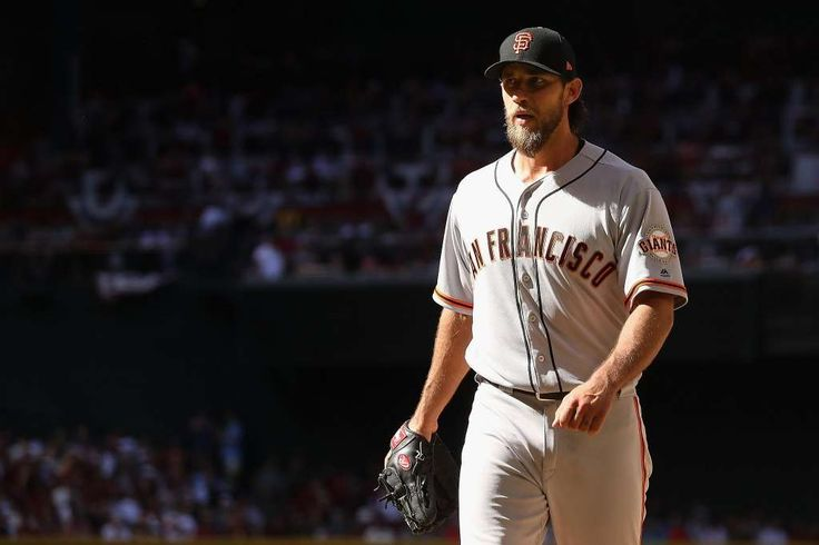 Giants do not foresee surgery for Bumgarner  -  April 22, 2017:    PHOENIX, AZ - APRIL 02:  Starting pitcher Madison Bumgarner #40 of the San Francisco Giants walks off the mound during the MLB opening day game against the Arizona Diamondbacks at Chase Field on April 2, 2017 in Phoenix, Arizona.  (Photo by Christian Petersen/Getty Images) Photo: Christian Petersen, Getty Images