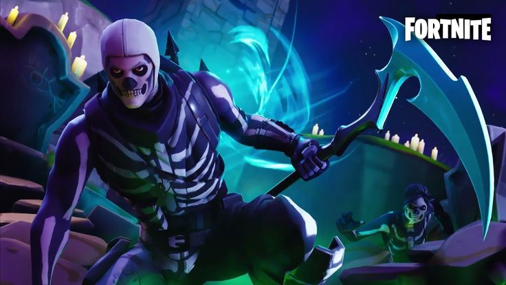 Fortnite Wallpaper Hd Skull Trooper Fortnite Wallpapers