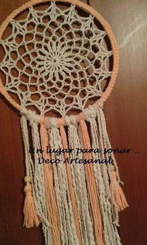 Mandalas . Atrapasueños . Tejidos Crochet - $ 170,00