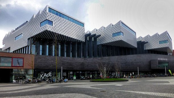 Eemhuis, Amersfoort, Netherlands — by Kostas Brejaart. The 'Eemhuis' in Amersfoort houses the public library of the city, as well as an art café and the archive of...