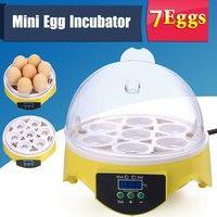 Wish | Homdox Mini Digital 7 Egg Incubator Hatching Chicken Duck Egg Incubator Egg Hatcher US Plug / EU Plug