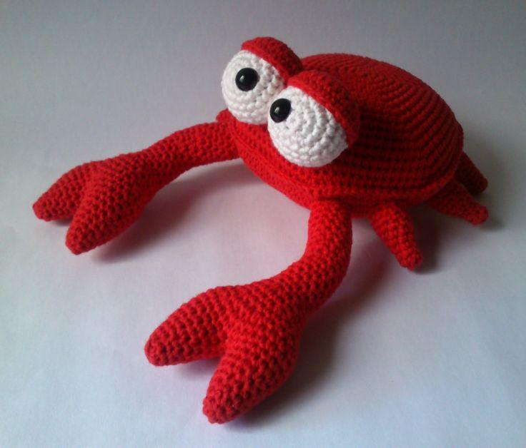 Amigurumi Crab : Cangrejo #amigurumi Diego y juana Pinterest Patrones ...