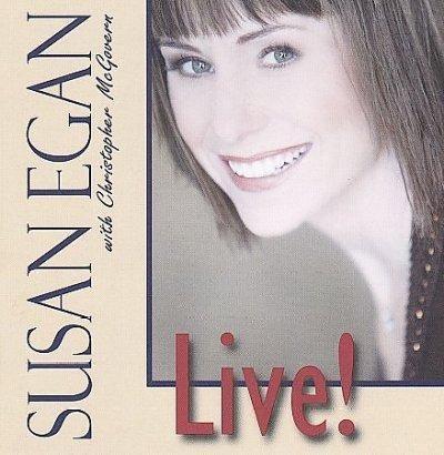 Susan Egan - Susan Egan Live!