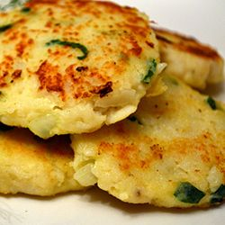Turn leftover hake into fishcakes in a jiffy!