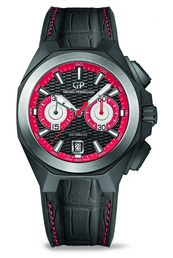 This year, Girard-Perregaux will contribute to the renowned Only Watch charity auction with a unique Chrono Hawk model.