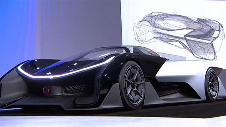 Faraday Future, la nouvelle concurrente de Tesla