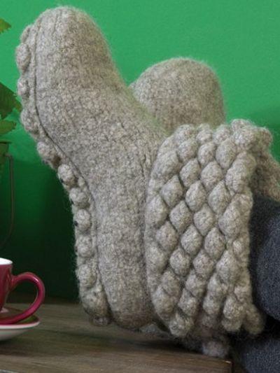 Filz it! No.6 New Slipper Ideas   Wash+Filz-it Felting Magic Colors   English Yarns Online Store