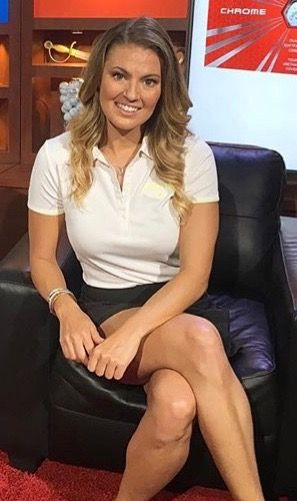 amanda balionis  cbs sports golf reporter