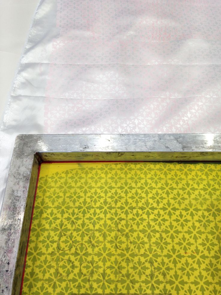 screen printing lining