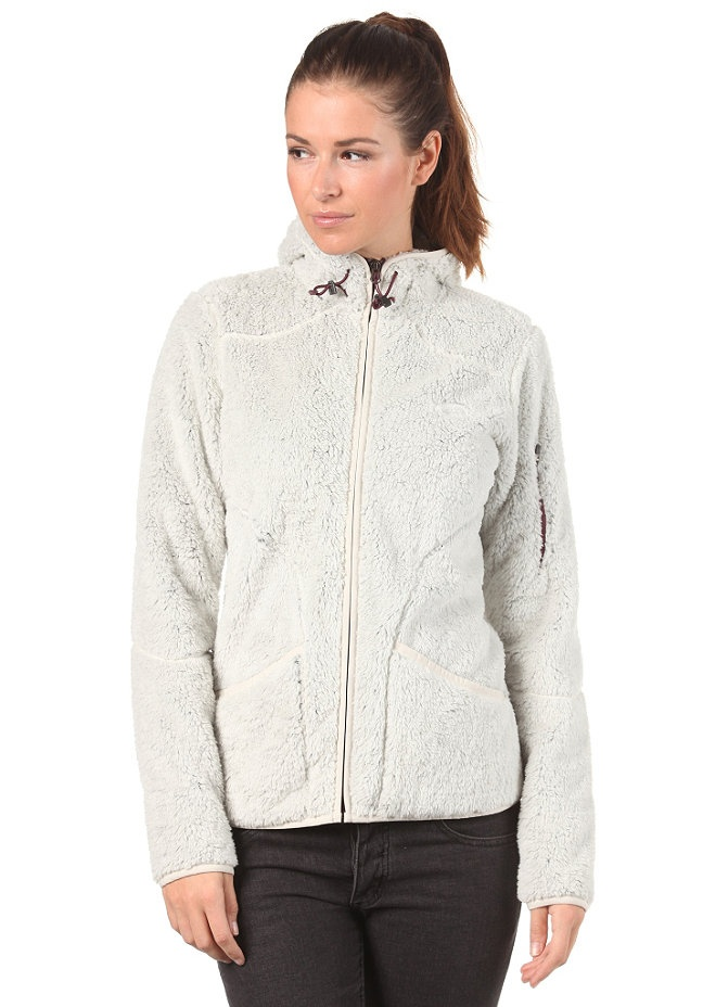 THE NORTH FACE Womens Cervinja Hooded Zip Sweat vaporous grey
