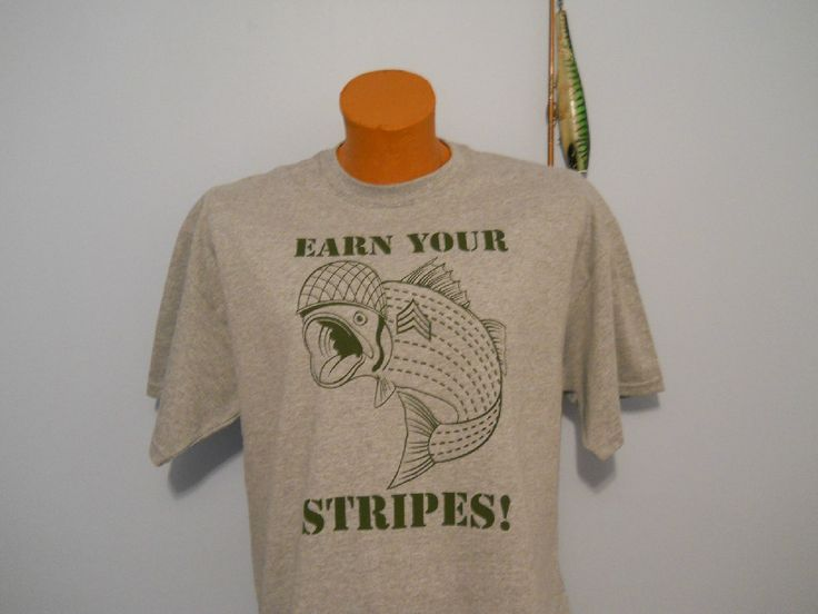Image result for striped bass wearing helmet shirt