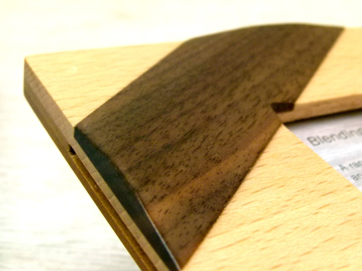 Zen Photo Frame detail. Pure Zen, this frame is made from solid Beech with an individually applied pattern.