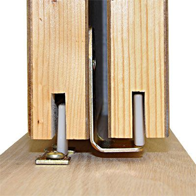 Johnson Hardware® 200BP Sliding Bypass Pocket Door Hardware