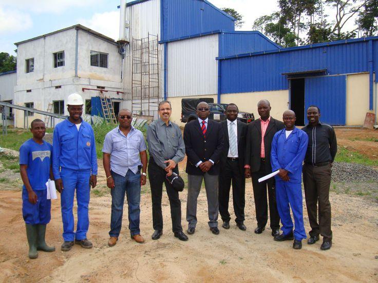 ravi somani at Cassava factory